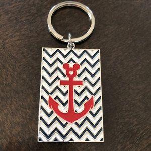 Disney anchor key ring